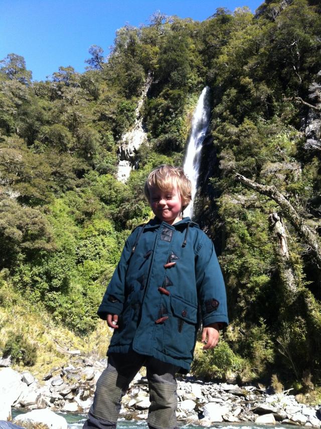 Haast waterfall