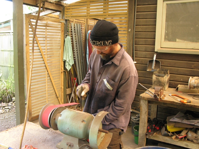 Shaping the steel