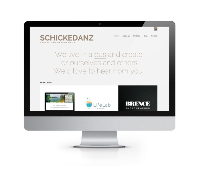 The Schickedanz Design site